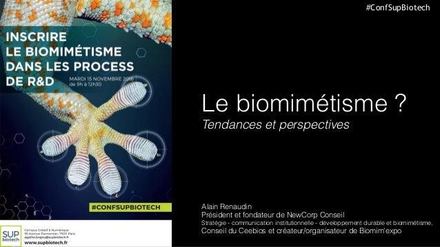 Présentation Sup'Biotech _ 15/11/2116 _ Alain Renaudin _ NewCorp Conseil _ CEEBIOS _ Ville de Senlis ©NewCorpConseil-2016 ...