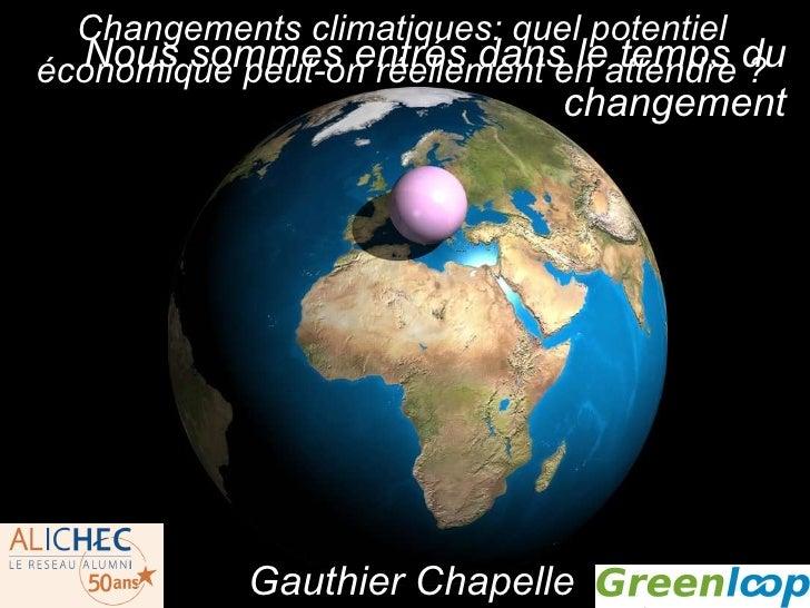 Nous sommes entrés dans le temps du changement http://adamnieman.co.uk/vos/index.html Gauthier Chapelle Changements climat...