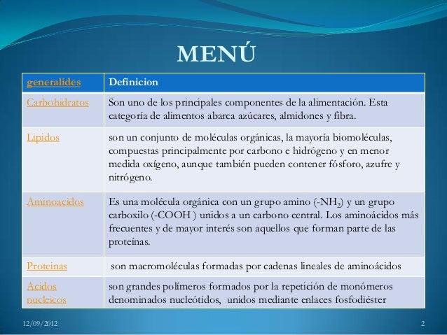 Biomoléculas 1 Slide 2