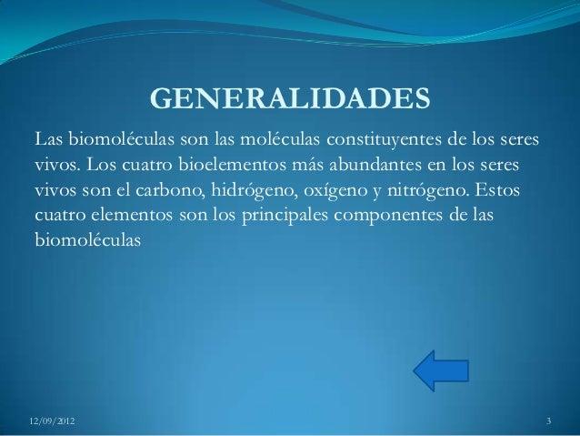 Biomoléculas 1 Slide 3