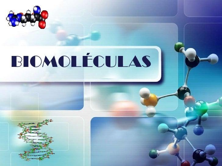 LOGOBIOMOLÉCULAS