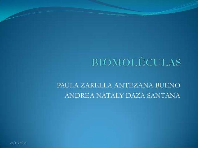 PAULA ZARELLA ANTEZANA BUENO               ANDREA NATALY DAZA SANTANA21/11/2012