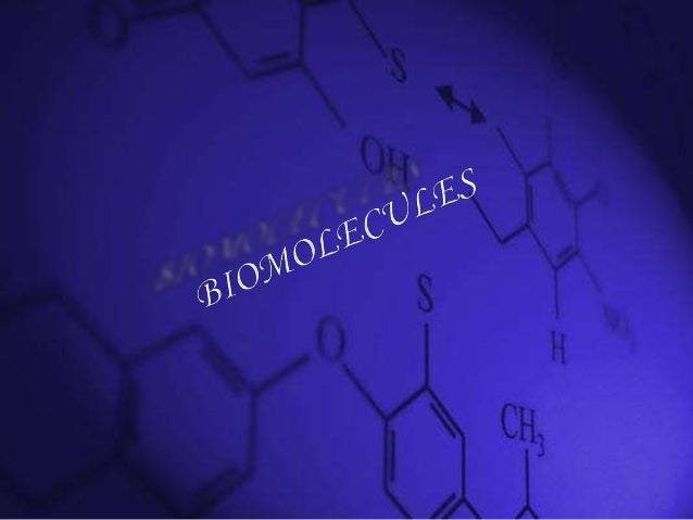 Chemistry project for class 12 on biomolecules