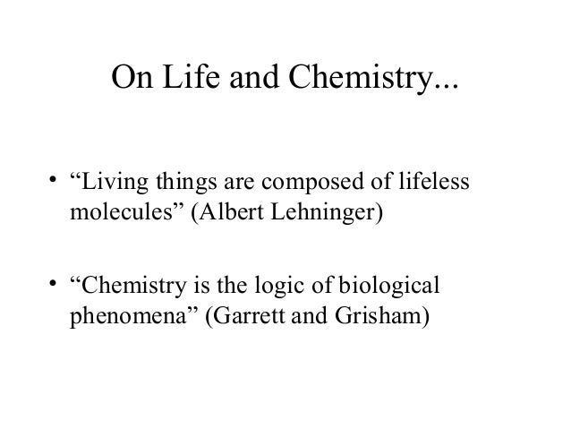 Biomolecules and water