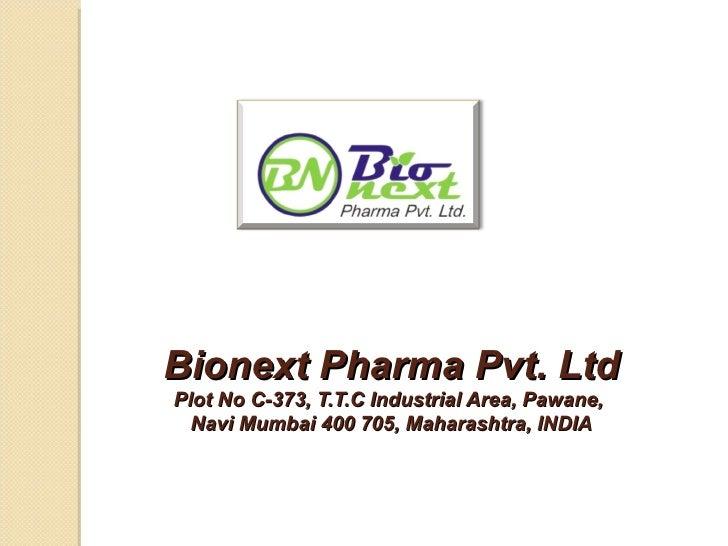 Bionext pharma
