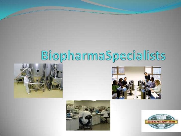 BiopharmaSpecialists<br />