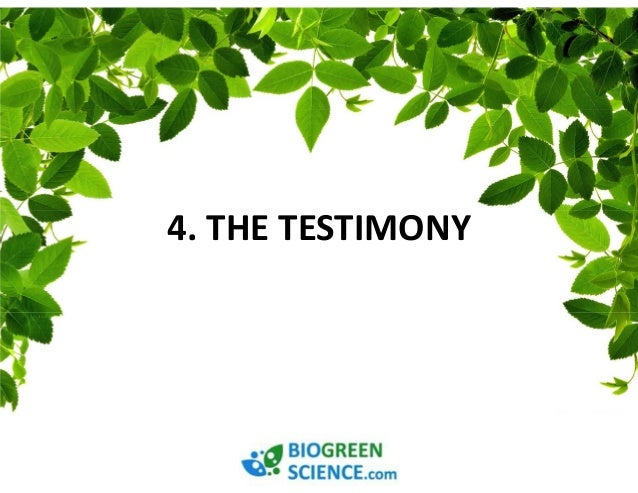 BE HEALTHIER, PRETTIER, WEALTHIER  And SATISFIED  WITH BIOGREEN SCIENCE