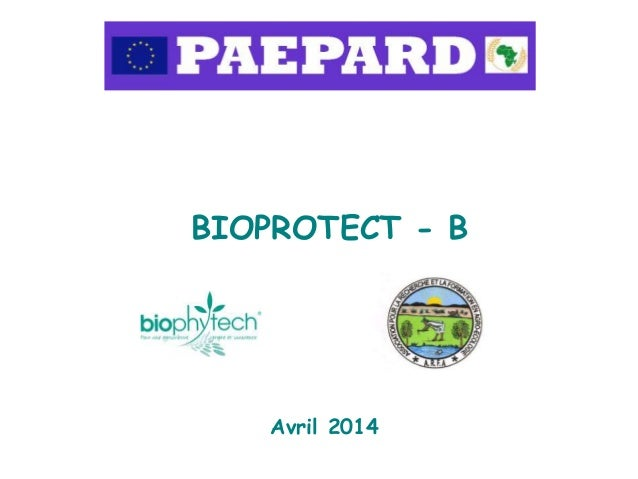 BIOPROTECT - B Avril 2014