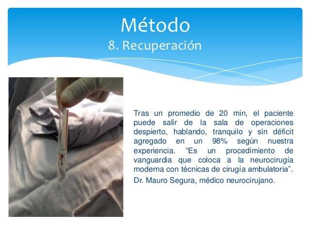 neurocirugia biopsia estereotaxia/neurologiasegura