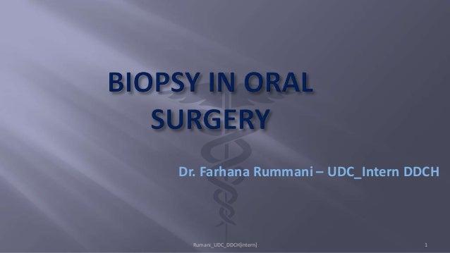 Dr. Farhana Rummani – UDC_Intern DDCH Rumani_UDC_DDCH[intern] 1