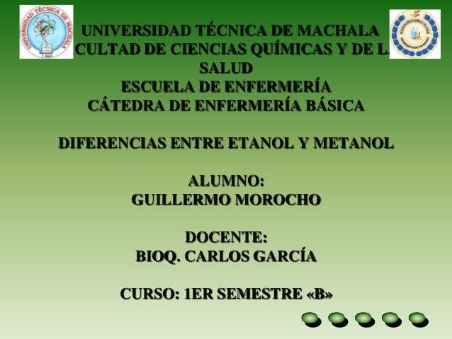 UNIVERSIDAD TÉCNICA DE MACHALA FACULTAD DE CIENCIAS QUÍMICAS Y DE LA SALUD ESCUELA DE ENFERMERÍA CÁTEDRA DE ENFERMERÍA BÁS...