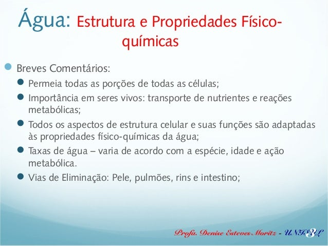 0187b05e61f Água  Estrutura e Propriedades ...