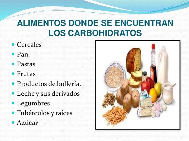 Bioquimica - Que alimentos contienen carbohidratos ...
