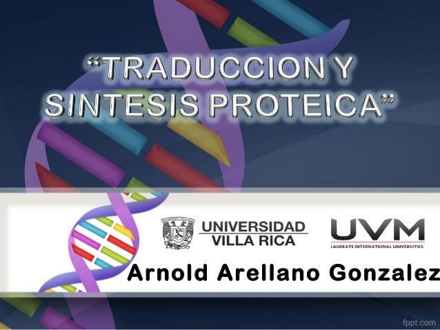 Arnold Arellano Gonzalez