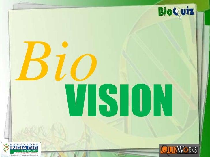 Bio<br />VISION<br />