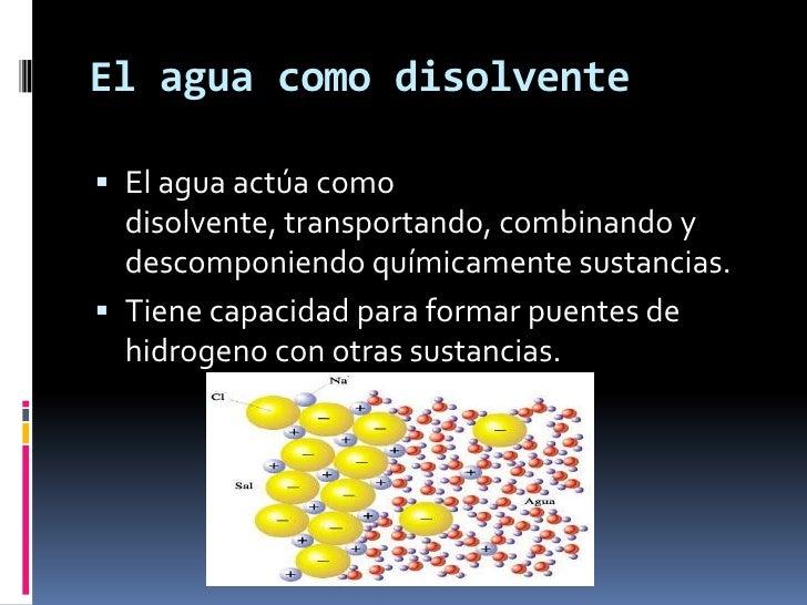 Bioquímica agua definitivo