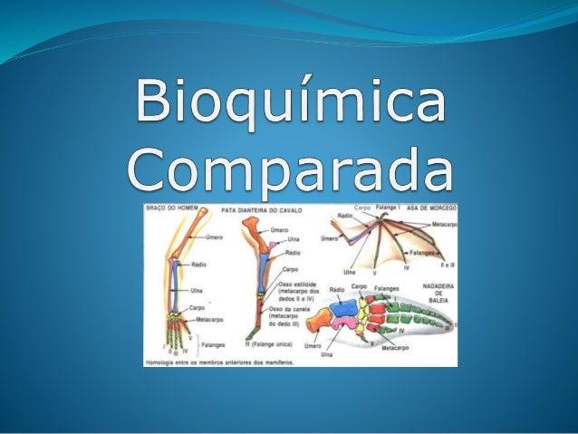 Bioquímica comparada