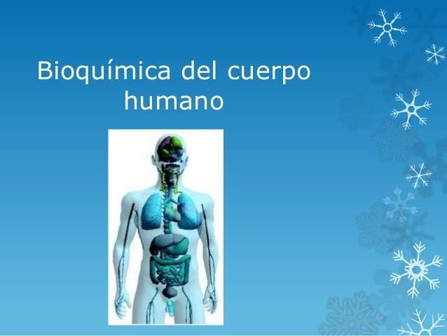 Bioquímica del cuerpo humano