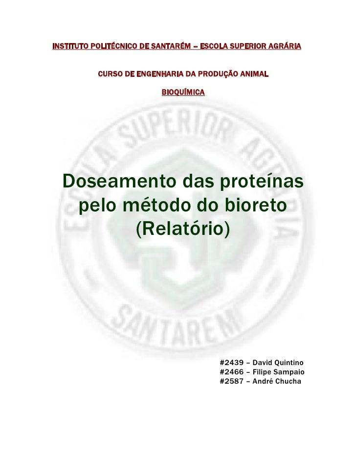 INSTITUTO POLITÉCNICO DE SANTARÉM – ESCOLA SUPERIOR AGRÁRIA             CURSO DE ENGENHARIA DA PRODUÇÃO ANIMAL            ...