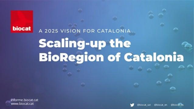 #InformeBiocatbiocat.cat @biocat_cat @biocat_en @biocat_es informe.biocat.cat www.biocat.cat