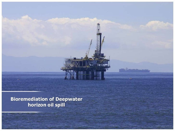 Bioremediation of Deepwater horizon oil spill<br />