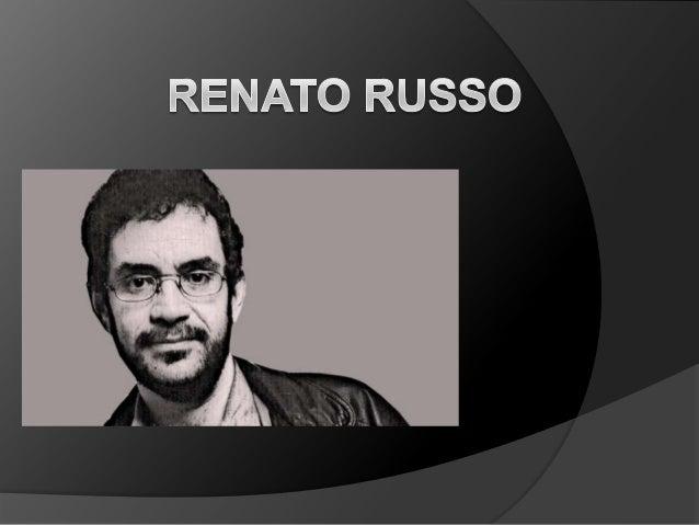 Biografia renato russo for Renato russo arredamenti