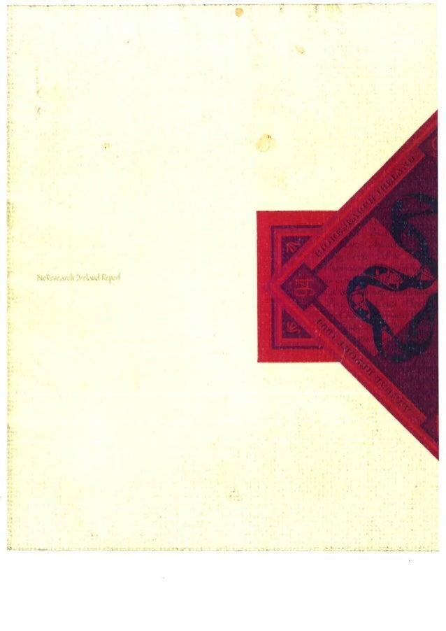Bio Research Ireland (BRI) report 1994