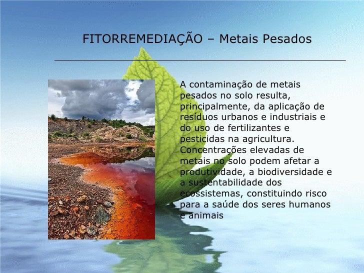Resultado de imagem para agua contaminada com metais pesados