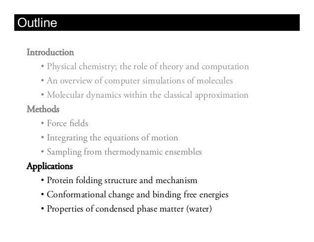 BIOS 203 Lecture 3: Classical molecular dynamics