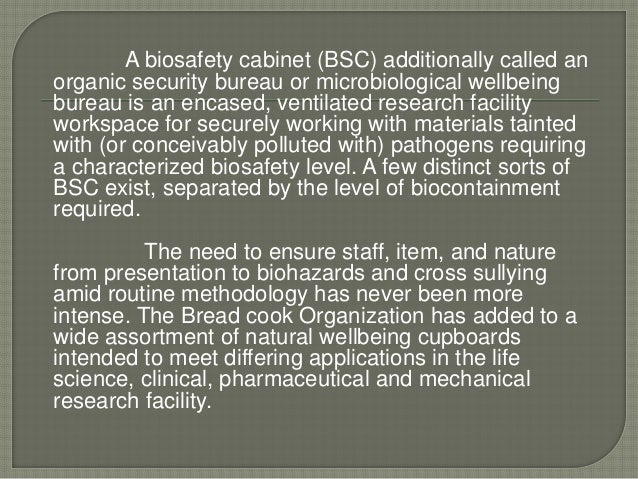 Biosafety Cabinet Manufacturers In Bangalore Fanti Blog