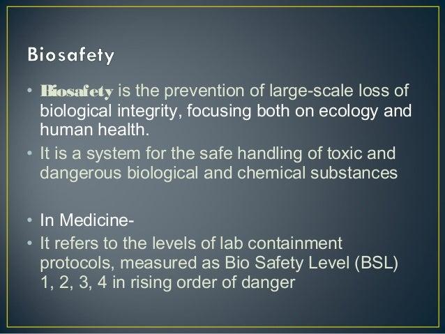 Biosafety In The Laboratories