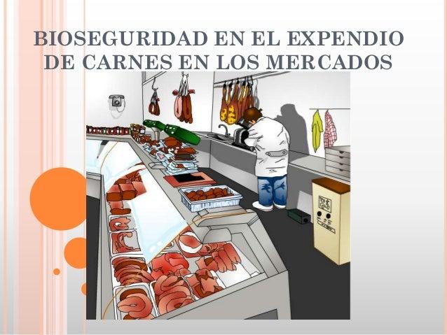BIOSEGURIDAD EN EL EXPENDIO DE CARNES EN LOS MERCADOS