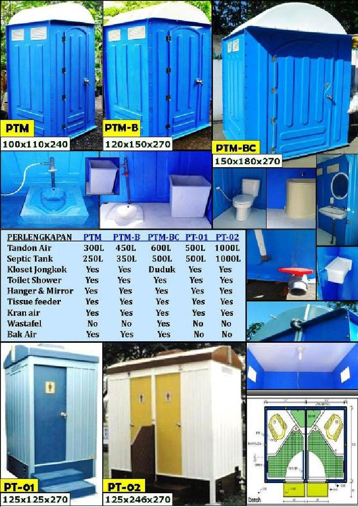 Bio seven portable toilet   mobile toilet (mulai 9 juta an)