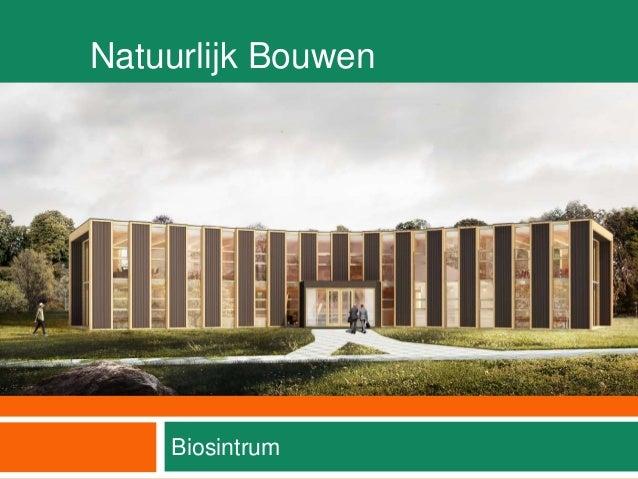 Natuurlijk Bouwen Biosintrum