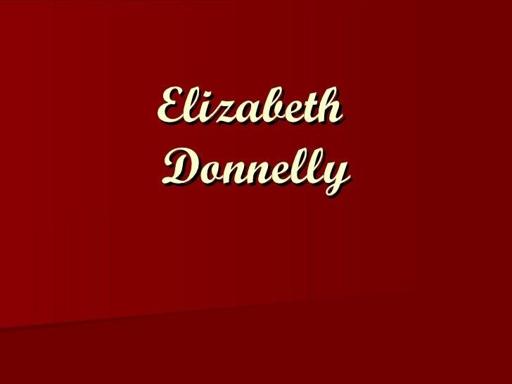 Elizabeth  Donnelly