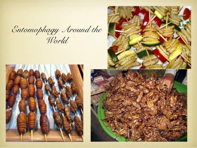 Entomophagy Around the World