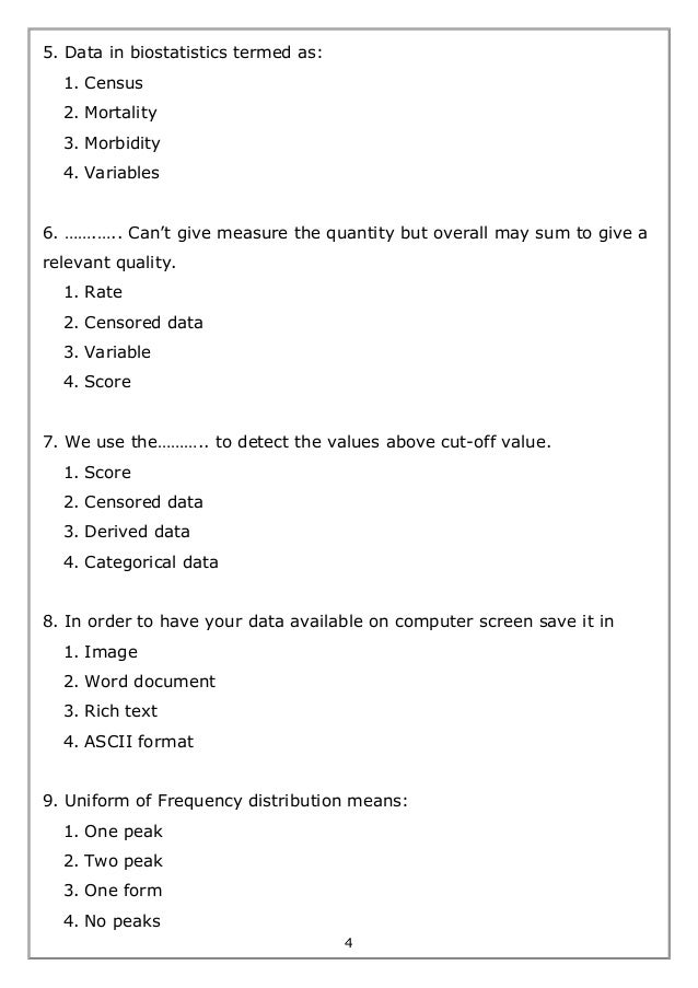 Biostatistics worksheet exercises – Qualitative Vs Quantitative Worksheet
