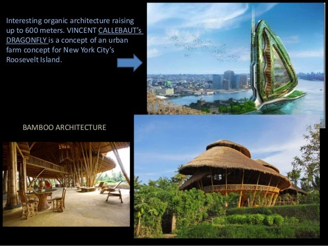 Bio structures for Home architecture analogy