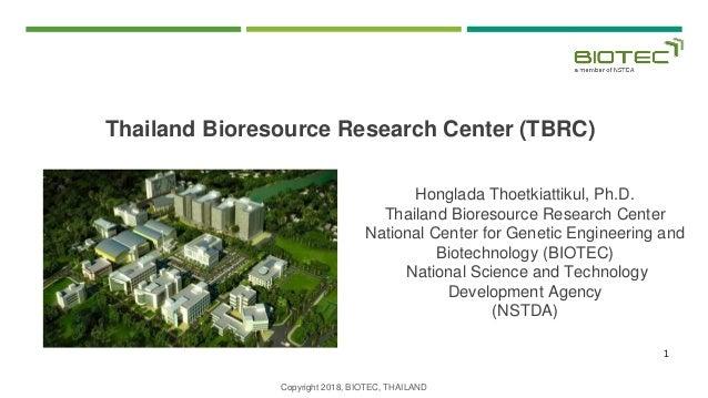 Thailand Bioresource Research Center (TBRC)