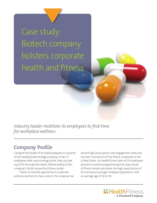 Company Profile Caring for the health of its 9,200 employees is a priority at this leading biotechnology company. In fact,...