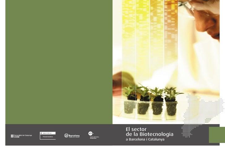 El sector de la Biotecnologia a Barcelona i Catalunya