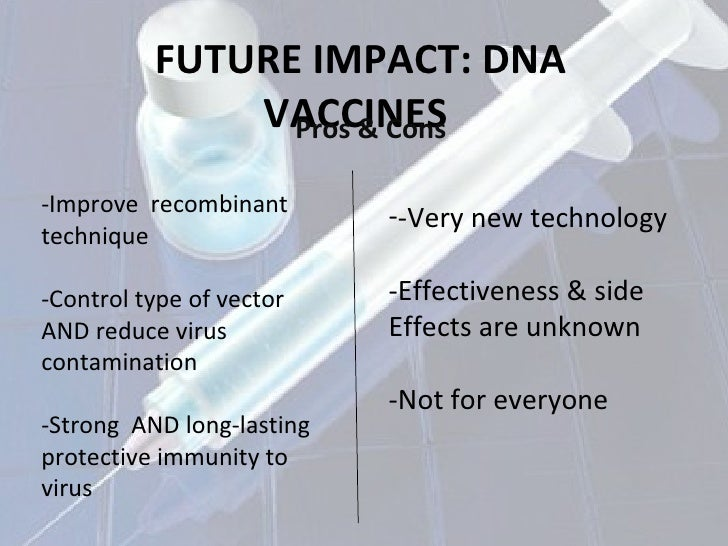pros and cons of vaccinations essay Why are vaccinations a problem do they cause harmful symptoms or affects do vaccines work for ever.