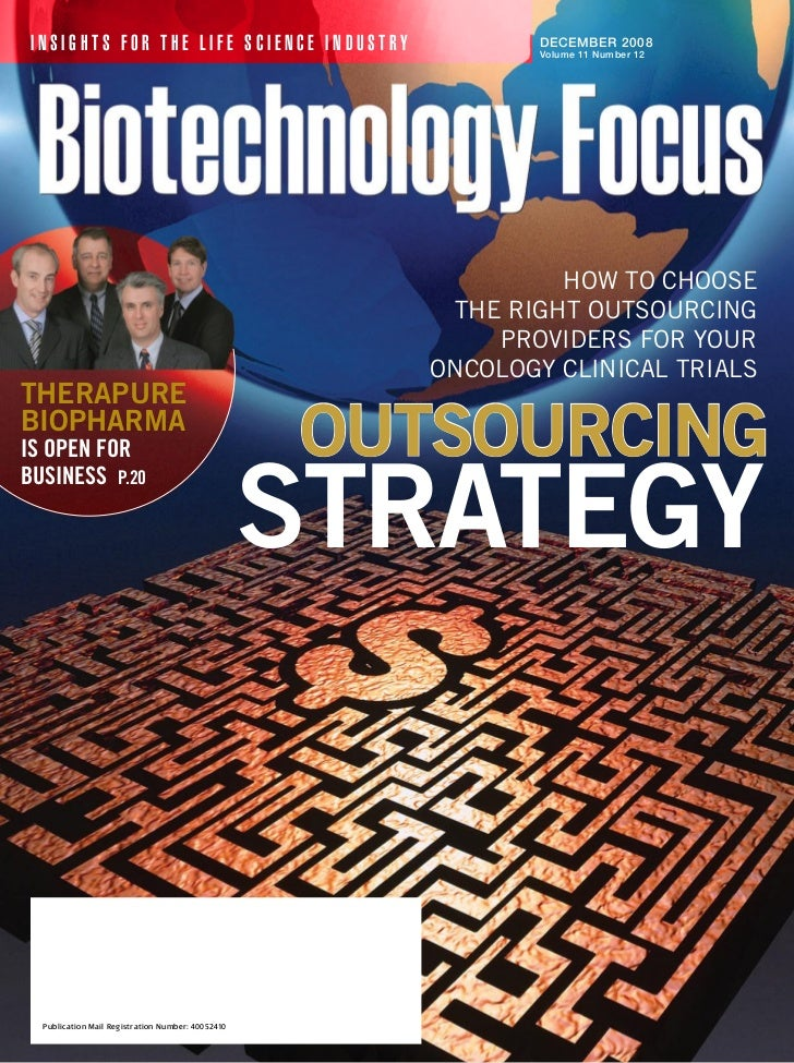 INSIGHTS FOR THE LIFE SCIENCE INDUSTRY                       DECEMBER 2008                                                ...