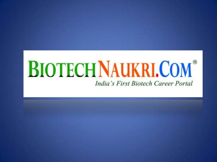 BIOTECH INDUSTRY IN INDIA