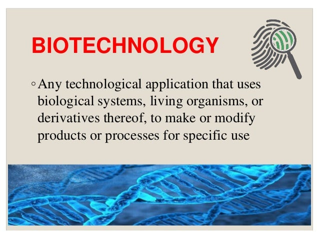 Role Of Biotechnology In Forensic Science