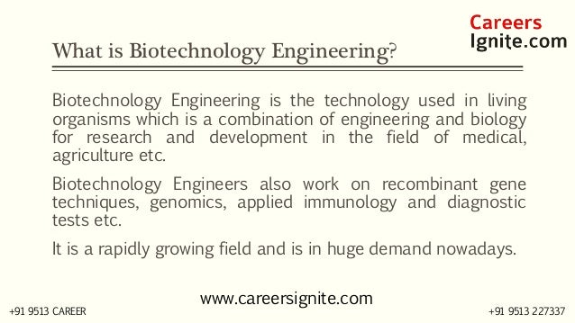 Biotechnology Engineering Courses, Colleges, Eligibility
