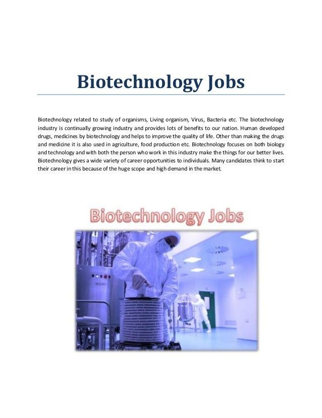 Biotechnology Jobs In Delhi