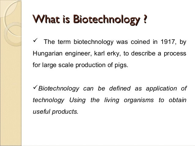 application of biotechnology 1 Start or enhance your biotechnology course today with biotechnology: a laboratory skills course by j kirk brown this laboratory textbook blends science background and hands-on laboratory activities with real world applications to help prepare your students to be critical thinkers as biotechnology shapes their world.