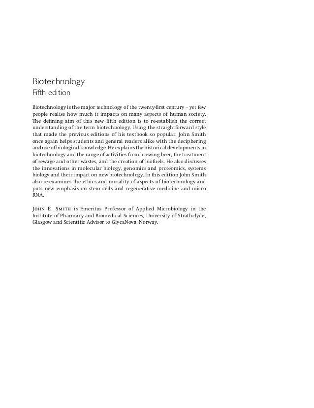 Biotechnology Textbook