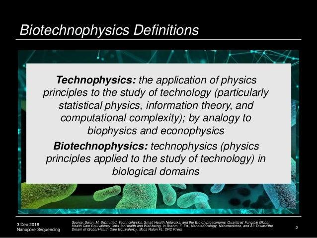Biotechnophysics: DNA Nanopore Sequencing Slide 3